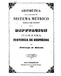 Biblioteca Hispanica : Arithmetic with t... by Balzola, Polycarp